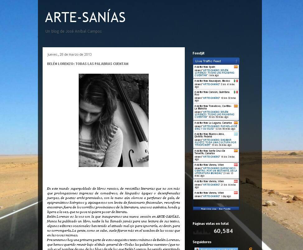 Página personal del traductor José José Aníbal Campos: http://anibalcampostraduccion.blogspot.com.es/2013/03/belen-lorenzo-todas-las-palabras-cuentan.html
