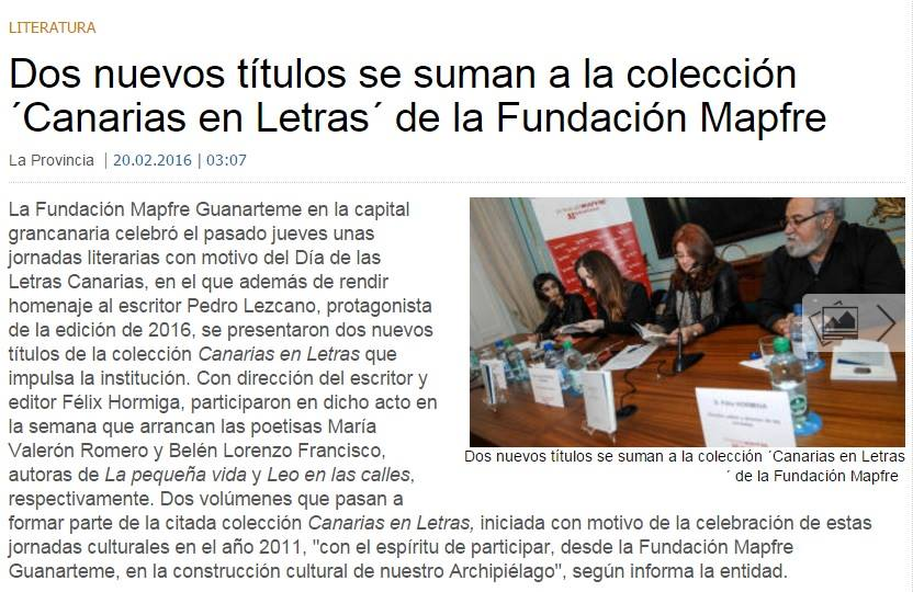http://www.laprovincia.es/cultura/2016/02/20/nuevos-titulos-suman-coleccion-canarias/793893.html
