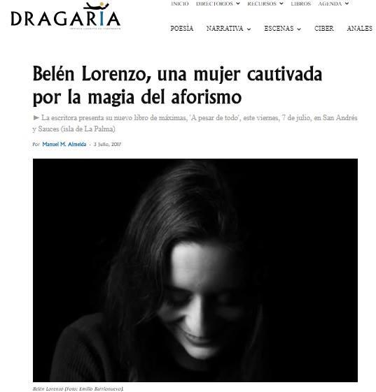 https://dragaria.es/belen-lorenzo-magia-aforismo/