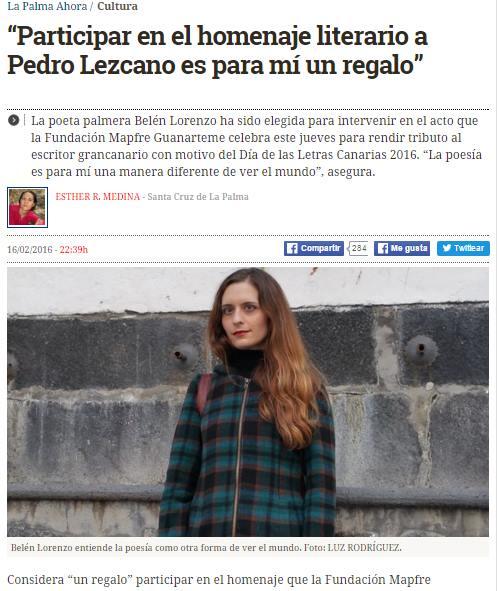 http://www.eldiario.es/lapalmaahora/cultura/poeta-Belen_Lorenzo-homenaje-Pedro_Lezcano_0_485052631.html