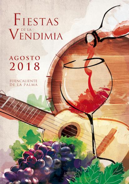Cartel Fiesta de la Vendimia 2018 Fuencaliente